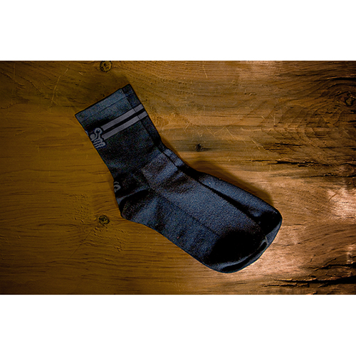 Independent Fabrication Black and Gray Socks
